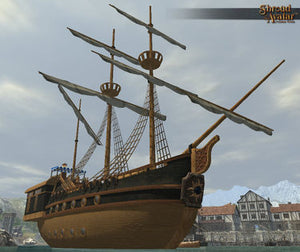 Baron Waterfront Galleon (City-sized)