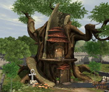 Druid Tree Home (Town-sized)