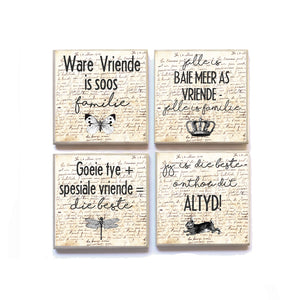 Coasters Afrikaans LOVE AND FRIENDSHIP