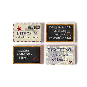 Fridge Magnets English TEACHER QUOTES