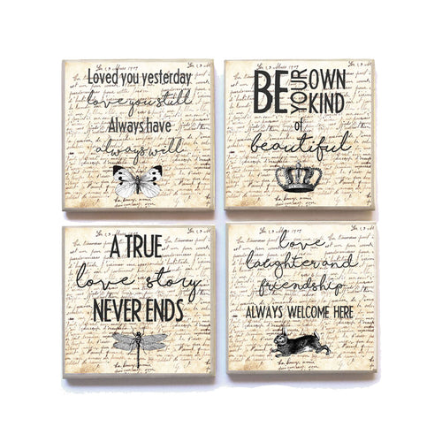Coasters English LOVE AND FRIENDSHIP