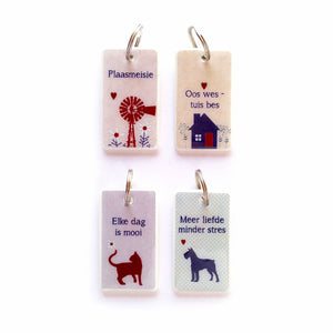 Keyrings Afrikaans FRIENDS AND FAMILY