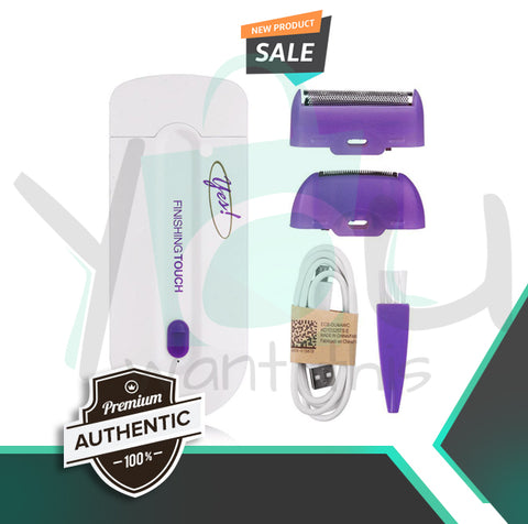 ORIGINAL FINISHING TOUCH HAIR REMOVER / Gentle Rotary Shaver
