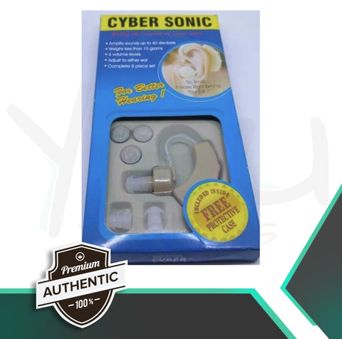 CYBER SONIC HEARING AID - BUY 1 TAKE 1 Good FOR BOTH EARS