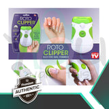 Roto Clipper: Electric Nail File And Trimmer ☺ Baby, Kids & Elderly 100% SAFE