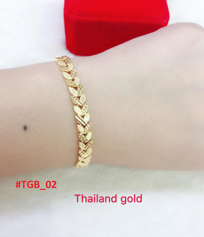 Thailand Gold BRACELETS - Buy 1 Take 1 FREE PROMO !!