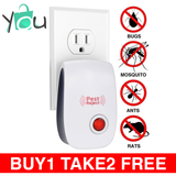Pest Control Ultrasonic Repellent - BUY 1 GET 2 FREE - COD w/ FREE SHIPPING NATIONWIDE
