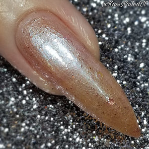 Rose Sparkle - Indie Nail Polish (New Bottle)