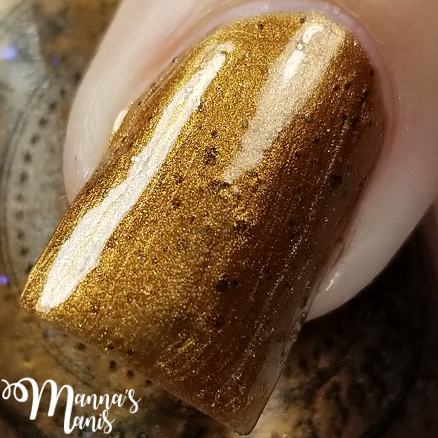 Chocolate Chocolate Chip - Indie Nail Polish
