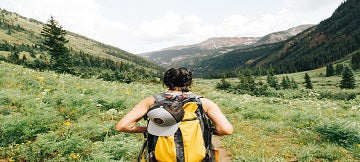 Some useful tips for when you're backpacking and need to pee