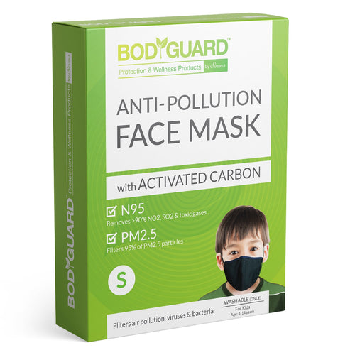 BodyGuard N95 + PM2.5 Reusable Pollution Mask - Pee Buddy