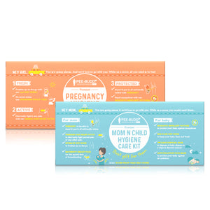 Pregnancy and Mother & Child Kit Combo - Pee Buddy