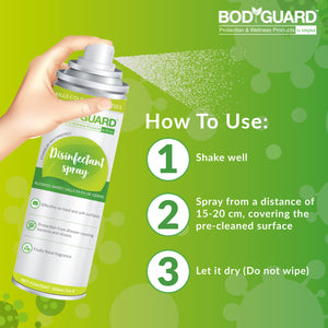 BodyGuard Multipurpose Alcohol Based Disinfectant Spray - 100 ml - Pee Buddy