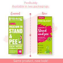 Load image into Gallery viewer, PeeBuddy Female Urination Device - 10 Funnels - Pee Buddy