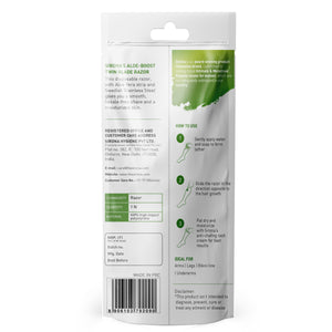Sirona Aloe Boost Twin Blade Disposable Razor - Pee Buddy