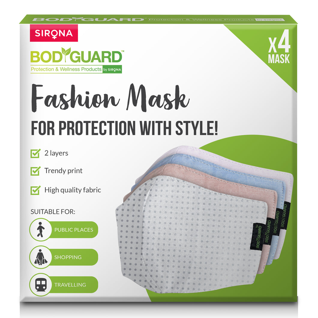BodyGuard Reusable Cotton Fashion Mask - Pee Buddy