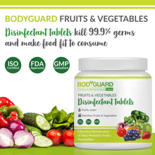 Load image into Gallery viewer, BodyGuard Fruits and Vegetables Disinfectant Tablets - 50 Tablets - Pee Buddy