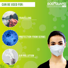 Load image into Gallery viewer, BodyGuard N95 + PM2.5 FFP2 Anti Pollution Face Mask with 5 Layers Protection - Pee Buddy