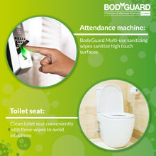 Load image into Gallery viewer, Bodyguard Disinfectant Fruits & Vegetable Tablets (50 Tablets - 1 Unit), Disinfectant Spray 300 ml (2 Units) & Sanitising Wet wipes 30 Wipes (2 Units) - Pee Buddy