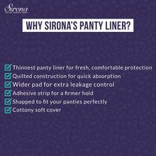 Load image into Gallery viewer, Sirona Ultra-Thin Small Panty Liners - 30 Counts - Pee Buddy