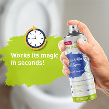 Load image into Gallery viewer, PeeBuddy Odour & Germs Eliminating Before & After Toilet Spray - 100 ml - Pee Buddy