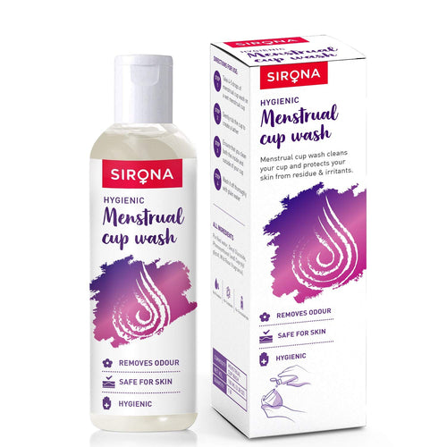 Sirona Natural Menstrual Cup Wash – 100 ml - Pee Buddy
