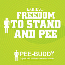 Load image into Gallery viewer, PeeBuddy Female Urination Device - 80 Funnels - Pee Buddy