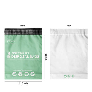 Sirona Adult Diaper Disposable Bags - 30 Bags - Pee Buddy