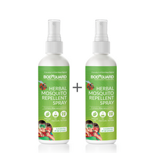 Load image into Gallery viewer, Bodyguard Natural Anti Mosquito Spray – Set of 2 (100 ml Each) - Pee Buddy