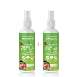 BodyGuard Natural Anti Mosquito Repellent Spray - 100 ml - Pee Buddy