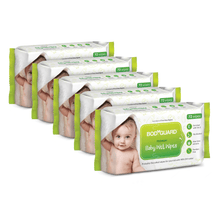 Load image into Gallery viewer, BodyGuard Premium Paraben Free Baby Wet Wipes with Aloe Vera - 360 Wipes (5 Pack, 72 each) - Pee Buddy