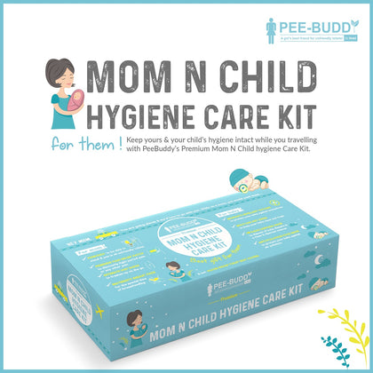 PeeBuddy Mother and Child Hygiene Care Kit