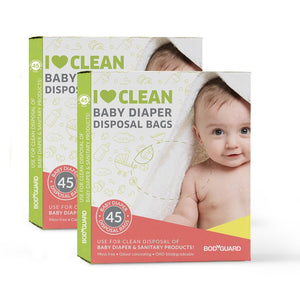 BodyGuard Baby Diaper Disposal Bags - Pee Buddy