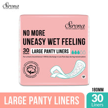 Load image into Gallery viewer, Sirona Ultra-Thin Large Panty Liners - 30 Counts - Pee Buddy
