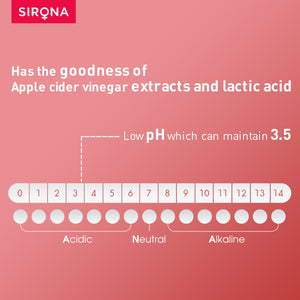 Sirona Apple Cider Vinegar Cleanser (for Intimate Areas) - 200 ml - Pee Buddy