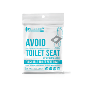 PeeBuddy Disposable Toilet Seat Covers Pack of 2 - Pee Buddy