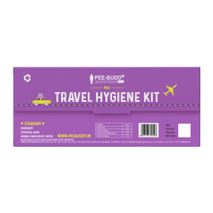 PeeBuddy Mini Travel Hygiene Kit For Her - Trial Kit - Pee Buddy