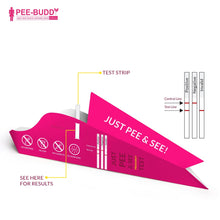 Load image into Gallery viewer, PeeBuddy PregRx Instant Pregnancy Test -  3 Funnels - Pee Buddy