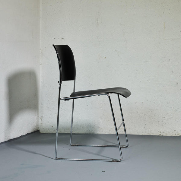 Chaise 40/4 David Rowland pour General Fireproofing Co