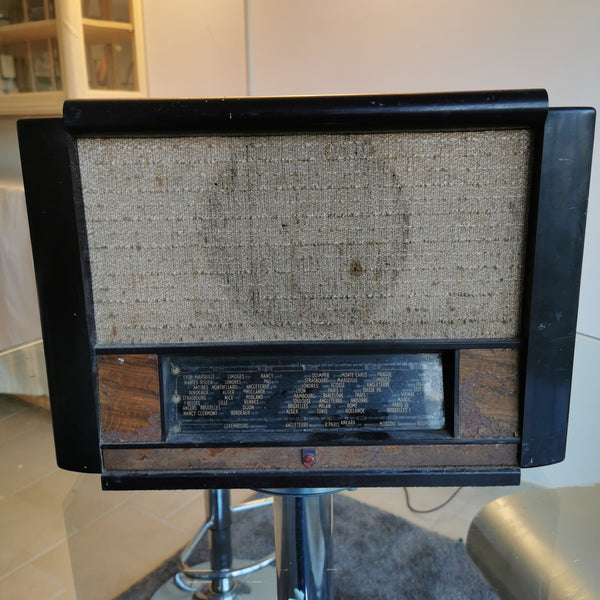 Vieille radio vintage Bluetooth Phillips Go