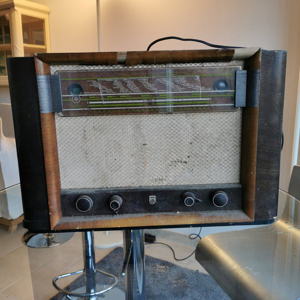 Vieille radio vintage Bluetooth Phillips