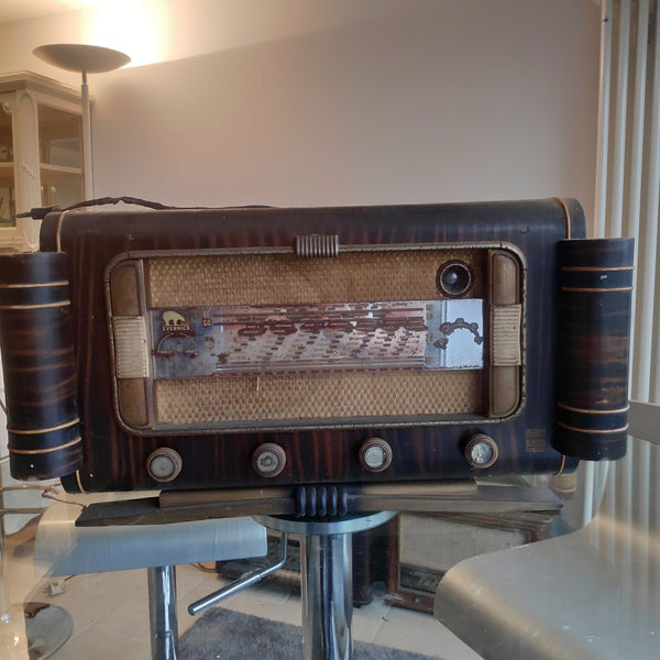 Vieille radio vintage Bluetooth Evenernice