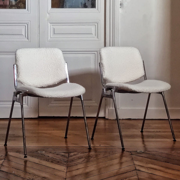 Lot de 6 chaises Castelli
