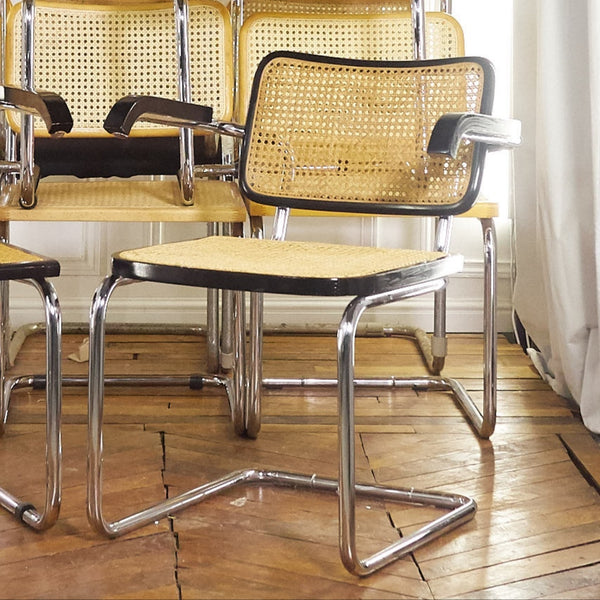 Fauteuil B64 made in italy style Marcel Breuer