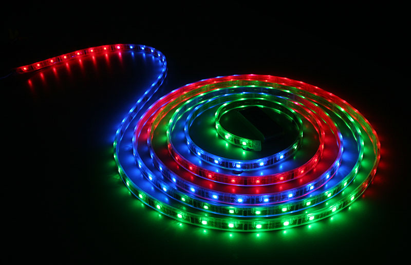 Rgb waterproof led light strip 5m labpaddesign rgb waterproof led light strip 5m aloadofball Image collections