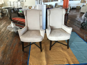 Beautiful Neutral Chairs - A Pair