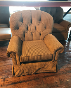 Traditional Club Chairs - A Pair