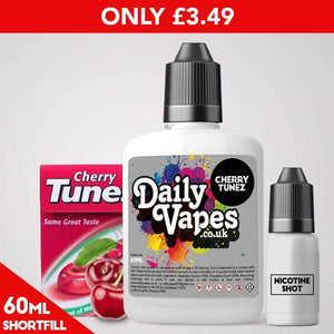 Cherry Tunez E-Liquid - 60ml Shortfill