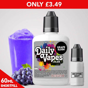 Grape Slush E-Liquid - 60ml Shortfill