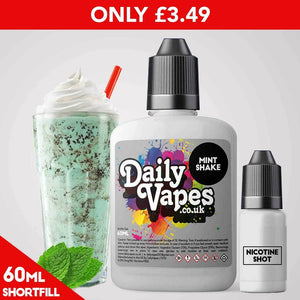 Mint Shake E-Liquid - 60ml Shortfill